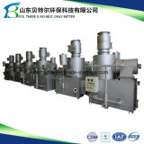 Incinerador para a incineração de resíduos com o ISO marcação