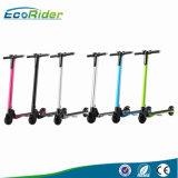 Scooter électrique pliable de poids léger de batterie au lithium d'Ecorider