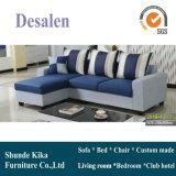 Sofá de modelo de nova chegada, sofá de tecido de design simples (2018)