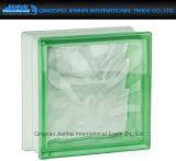 Mattone di vetro colorato migliore prezzo della radura del blocco per la decorazione