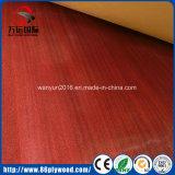 Alta tarjeta brillante del MDF del llano de la melamina de la madera contrachapada de E1 E2
