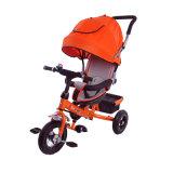 Triciclo de dobramento do bebê com o dossel En71 aprovado