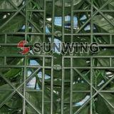 Haie artificielle de jardin de natte extérieure décorative de haies