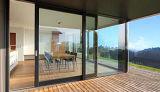 Veelvoudige Punten die Schuifdeuren van het Aluminium van het Balkon van het Systeem de Op zwaar werk berekende sluiten