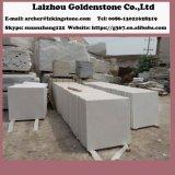 中国の健康な磨かれた白い大理石は、白い大理石の平板雪が降る