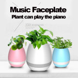 Haut-parleur Bluetooth de la musique de lumière LED Smart Pot de fleurs