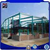 기중기를 가진 큰 경간 Prefabricated 가벼운 강철 구조물