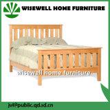 Kiefernholz reißt Bett-flaches Bett ab (W-B-0088)