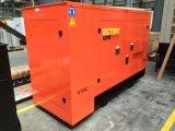 звукоизоляционный тепловозный генератор 80kVA с двигателем 1006tg1a Lovol для проектов здания