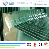 10mm 3/8 desobstruído de vidro Tempered endurecido Baixo-e baixo ferro da segurança para a porta de vidro