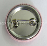 Fabric (단추 기장 60)를 가진 높은 Quality Embroidery Tin Button Badge
