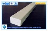 Rectángulo de plástico reforzado con fibra de fibra de vidrio de tubo, tubo de la barra rectangular, GRP