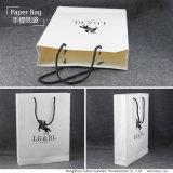 Kleid kundenspezifische überzogenes Papier-gedruckte Einkaufstasche