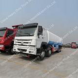 sino HOWO camion-citerne aspirateur de camion de réservoir de combustible dérivé du pétrole de 20cbm 6X4