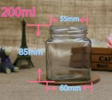 100-380ml frasco de vidrio de grado alimentario para mermeladas y conservas