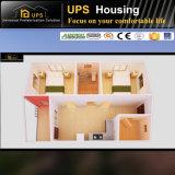 Grüner modularer Erdbeben-Beweis-kleines Landhaus-Haus in den Insel-Ländern
