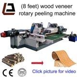 8 pés de madeira Spindleless folheado de Log Peeling Rotativo torno mecânico
