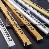 Profils en aluminium d'extrusion en métal avec Polished