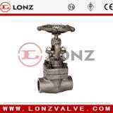 Válvula de acero forjado del globo (J31H)