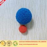 Bola del caucho del tubo de cobre del condensador de la limpieza