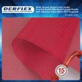Malha de tecido revestido de PVC com impressão digital para construção