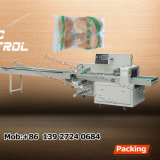 Máquina plástica automática del lacre del bolso del pan del flujo de la buena calidad