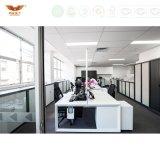 Partition modulaire de bureau de panneau de mélamine de compartiment de poste de travail pour des meubles de bureau