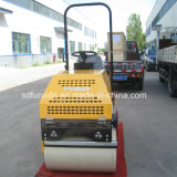 Hydraulische Steuerung 1 Tonnen-selbstangetriebene Vibrationsstraßen-Rolle für Verkauf
