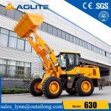 AoliteのブランドのCummins Engineが付いている中国の工場3ton四輪ローダー630
