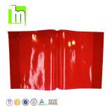 A3 A4 A5 ou personnalisés Couverture de livre en plastique transparent coloré