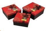 Caja de regalo de encargo, caja de regalo plegable plana, caja de regalo plegable de papel