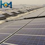 L'énergie solaire en verre trempé de 3,2 mm pour panneau solaire avec gain de puissance élevée