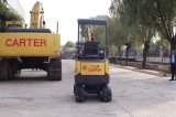 Mini máquina escavadora da esteira rolante de borracha do chassi CT16-9d de Tracks&Retractbale