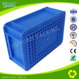 Contenitore di memoria di modellatura dell'iniezione di plastica blu