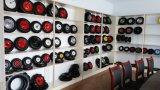 고장 증거 PU 거품 외바퀴 손수레 바퀴 4.00-8 의 Lianfeng 바퀴