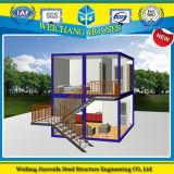 2층 G+1 샌드위치 위원회 조립식 콘테이너 집 모듈방식의 조립 주택
