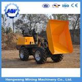 真新しい中国の作られた2トンの小さい車輪のローダー低価格