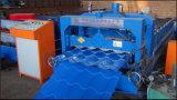 La toiture de Dx 828 a glacé le roulis de tôle d'acier de tuile de toit formant la chaîne de fabrication de production à la machine