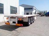Трейлер тележки 3 шассиих контейнера Axle планшетный