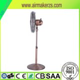 16 pulgadas eléctrico Ventilador de pie con cuchillas de metal