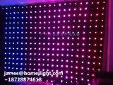 단계 조명 효과에 있는 P5 P10 P15 P18 8CH 5050 SMD 장식적인 LED 커튼 Ddisplay