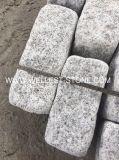 Mattoni caduti naturali naturali del granito della pietra per lastricati del granito G603 per il progetto di pavimentazione esterno