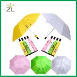 Seul parapluie de cadeau de bouteille pour la publicité