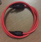 Connecteurs femelles et mâles Mc4 avec traitement de fil de câble solaire