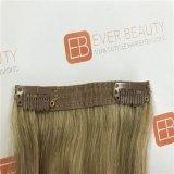 インドのバージンの毛を搭載する人間の毛髪の拡張の一等級クリップ