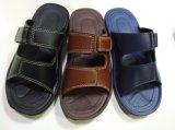 Sandali di cuoio del pistone del PVC dell'unità di elaborazione di EVA per gli uomini (21il1605)