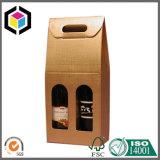 Geöffnetes Fenster-Pappkarton-Papier-Wein-verpackenkasten