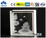 Jinghua artístico de alta qualidade B-1 Pintura de tijolo/bloco de vidro