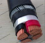 4 размер силового кабеля сердечника Cu/XLPE/Swa/PVC подземный бронированный