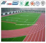 Tipo permeável trilha Running do Tartan plástico elástico do estádio